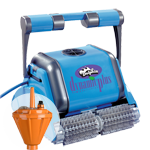 Robot Pulitore Piscina Dolphin Maytronics Dynamic Plus Battery